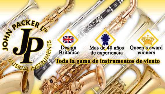 John Packer - Toda la gama de instrumentos de viento