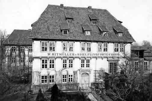 W. Ritmüller & Sohn Hard Hof fabrica
